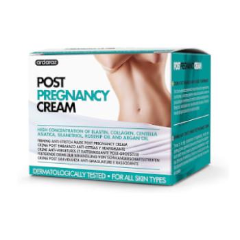 crema especial para usar en el post parto que ayuda a reducir las estrias