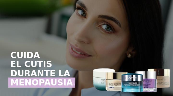 mejores cremas para el cutis durante la menopausia
